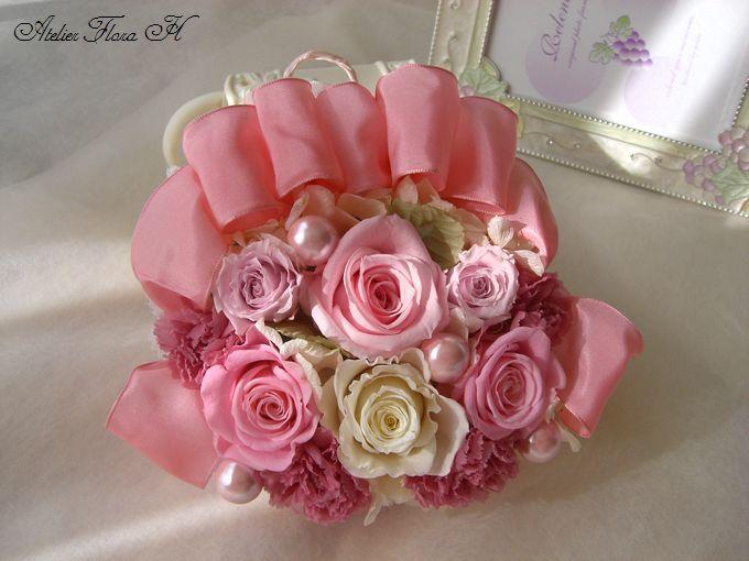 可愛いピンクスワッグ